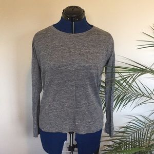 Madewell Simple Gray L/S Shirt
